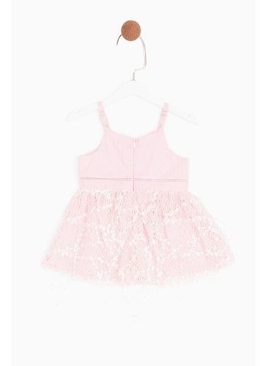 BG Baby Kız Bebek Pembe Elbise Pembe